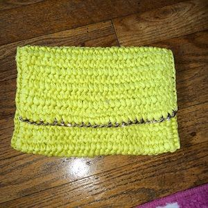 Lime satchel